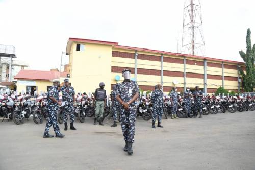 1625240610 27 Lagos Police Embark On Show Of Force Intimidation Ahead Of
