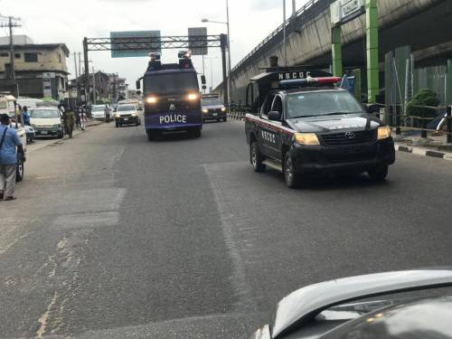 1625240611 393 Lagos Police Embark On Show Of Force Intimidation Ahead Of