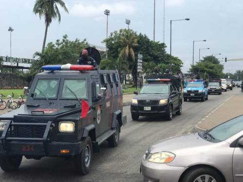 1625240611 479 Lagos Police Embark On Show Of Force Intimidation Ahead Of