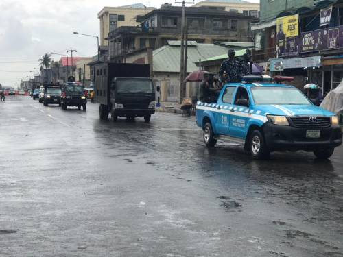 1625240611 829 Lagos Police Embark On Show Of Force Intimidation Ahead Of