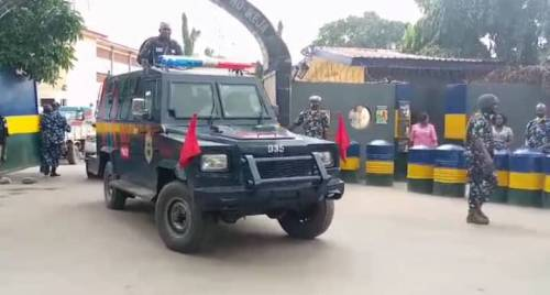 1625240611 977 Lagos Police Embark On Show Of Force Intimidation Ahead Of