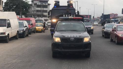 1625240612 352 Lagos Police Embark On Show Of Force Intimidation Ahead Of