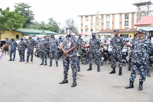 1625240612 578 Lagos Police Embark On Show Of Force Intimidation Ahead Of