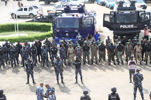 1625240613 833 Lagos Police Embark On Show Of Force Intimidation Ahead Of