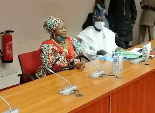 Amid Outrage, Senate Begins Screening Of Buhari's Aide, Lauretta Onochie, Others As Electoral Officers