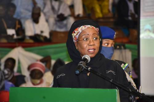 BREAKING: Nigerian Minister Slumps At Official Function In Bauchi