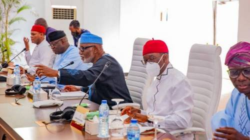 BREAKING: Southern Governors Insist Nigeria's Next President Must Not Come North