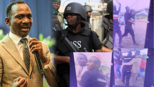 Confusion Trails Arrest Of Five Activists Who Wore '#BuhariMustGo T-shirts As DSS Accuses Pastor Enenche Of Inviting Them