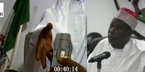 Dollar Bribery Video: Court Fines Governor Ganduje For Withdrawing Suit Against Journalist