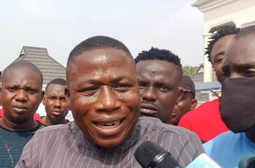Igboho Suspends Lagos Yoruba Nation Rally After Attack On His House In Ibadan