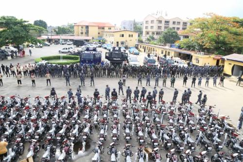 Lagos Police Embark On Show Of Force, Intimidation Ahead Of Planned Rally By Secessionist Groups