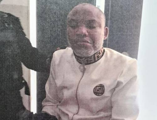 Nigerian Government Discloses How IPOB Leader, Nnamdi Kanu Was Caught