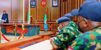"""IPOB: Governor Uzodinma Meets Nigerian Air Force, Wants """"Bad Eggs"""" Flushed Out"""