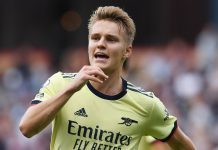 Martin Odegaard reveals the one Arsenal aim he has against