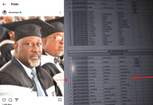 BREAKING: Senator Dino Melaye Did Not Graduate With A First-Class Degree From Baze University - Sources