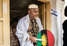 IPOB Threatens Sit-at-home For Six Days If Nigerian Government Fails To Release Nnamdi Kanu Before November 4