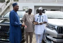 Oyo Governor Splashes Millions Of Naira On Cars For Party Leaders Amidst Plot To Impeach His Deputy